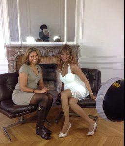 Lauranza invitée par la Reine de beauté de la Guyane dans l'émission Cristalle fait son show