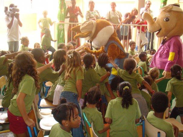 Konpè Lapen et Konpè Zanba font le bonheur des enfants