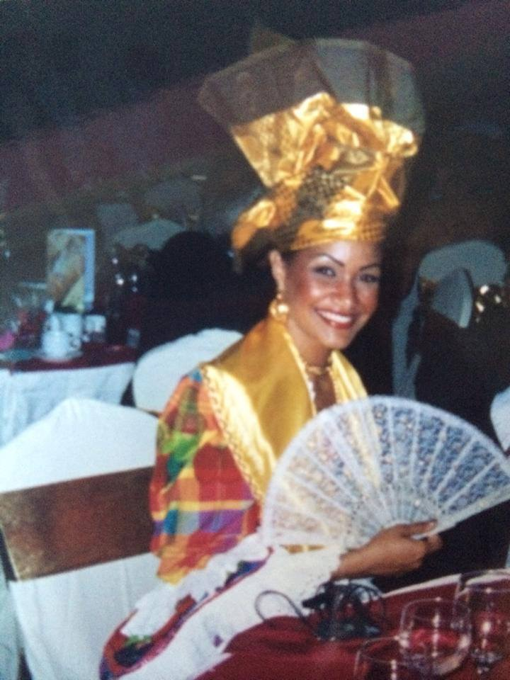 Lauranza DOLIMAN Tenue Traditionnelle Miss World Guadeloupe 2003