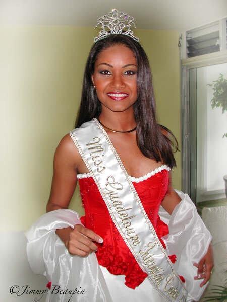Lauranza DOLIMAN Miss World Guadeloupe 2003