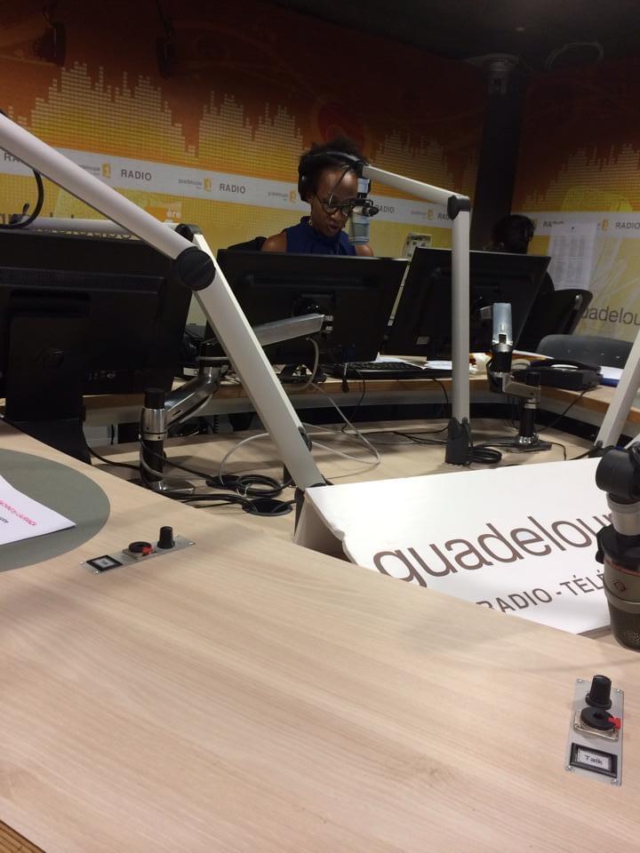Guylaine Conquet Guadeloupe 1ère radio
