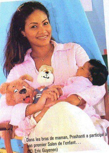 1er salon de l'enfant avec Prashanti