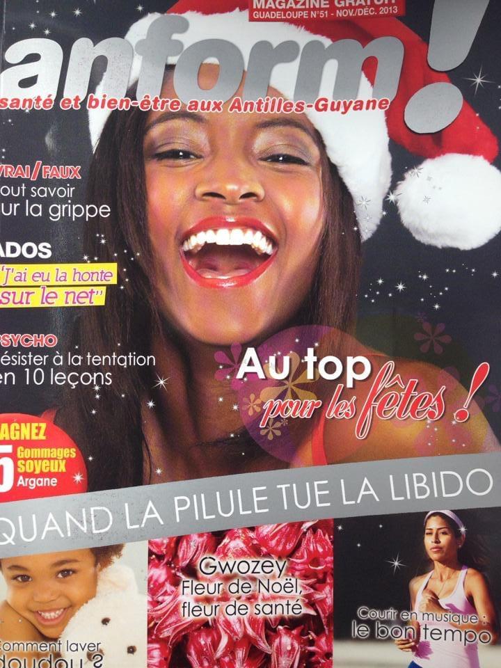 Conseils et astuces de Lauranza sur le magazine Anform !