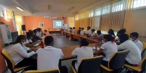 Intervention au lycée Des Droits de l'Homme