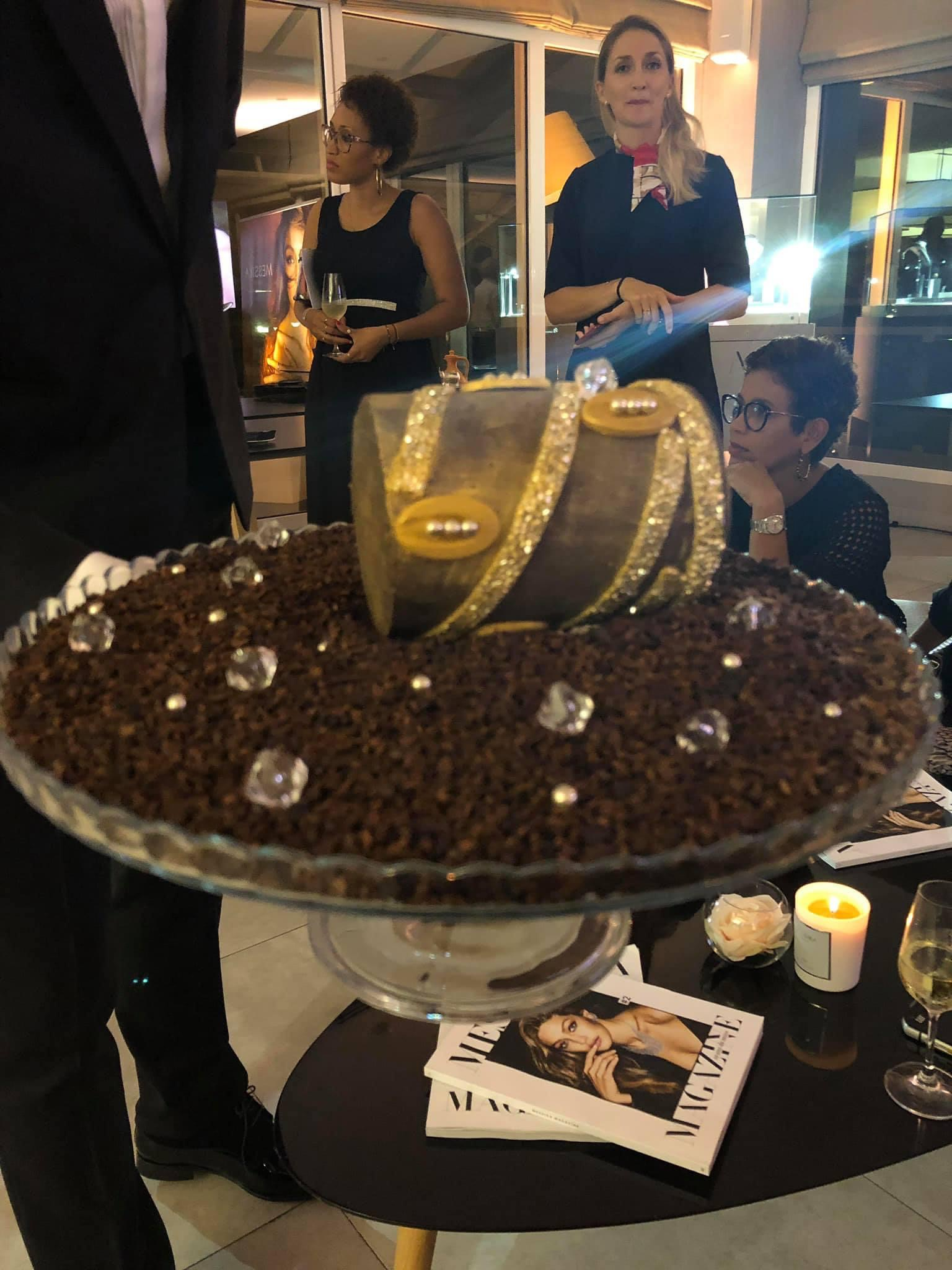 Lauranza Doliman invitée à la soirée Messika show cookingdu Chef étoilé Marcel Ravin