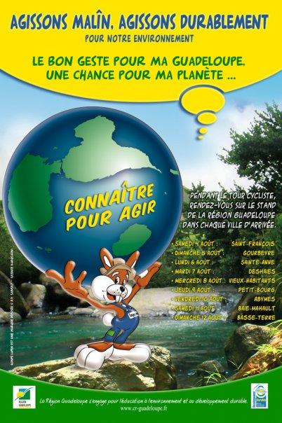 Konpè Lapen sensibilise pour notre environnement