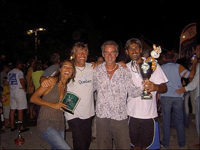 Pierre COSSO et son équipe du Nusa Dua avec Konpè Lapen