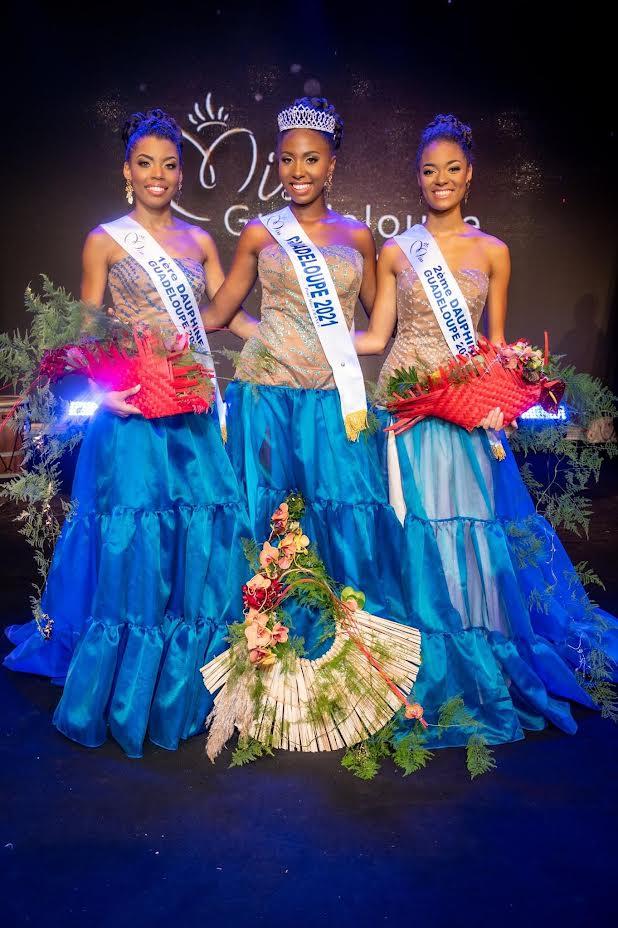 Finalistes Miss Guadeloupe 2021